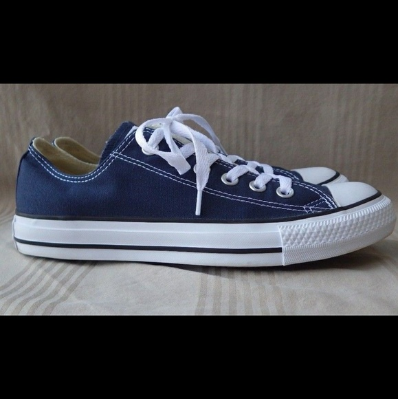 Converse navy blue classic all star low top NWT